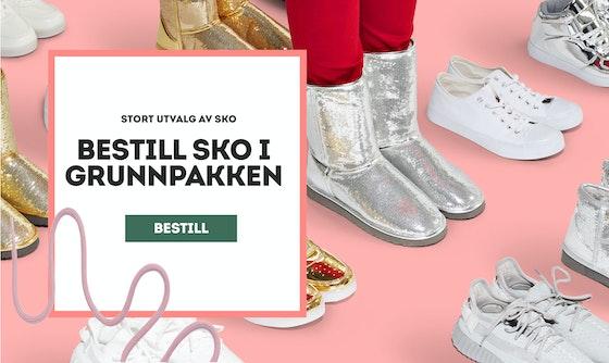 Bestill sko i Grunnpakken. Klikk for å bestille