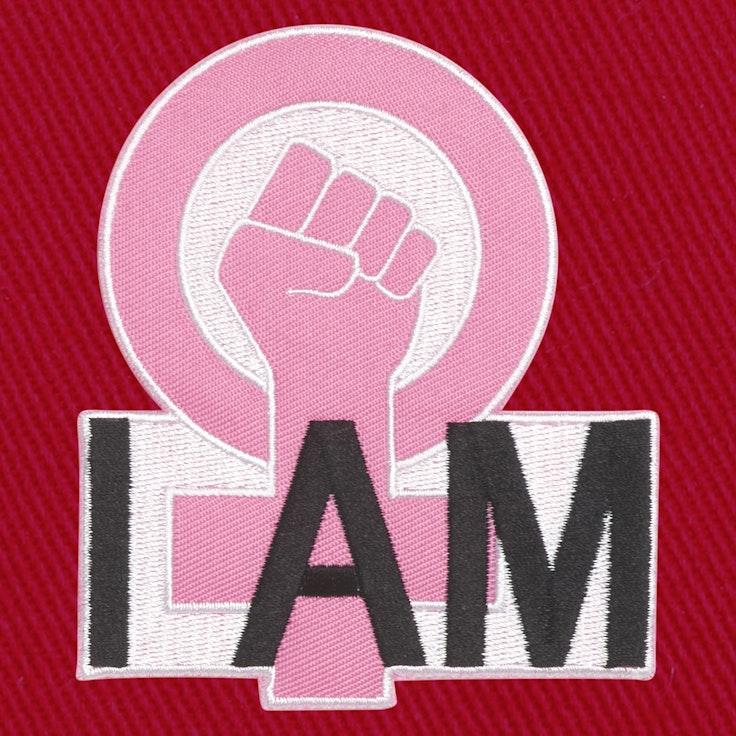 Badge I Am Feminist - 130