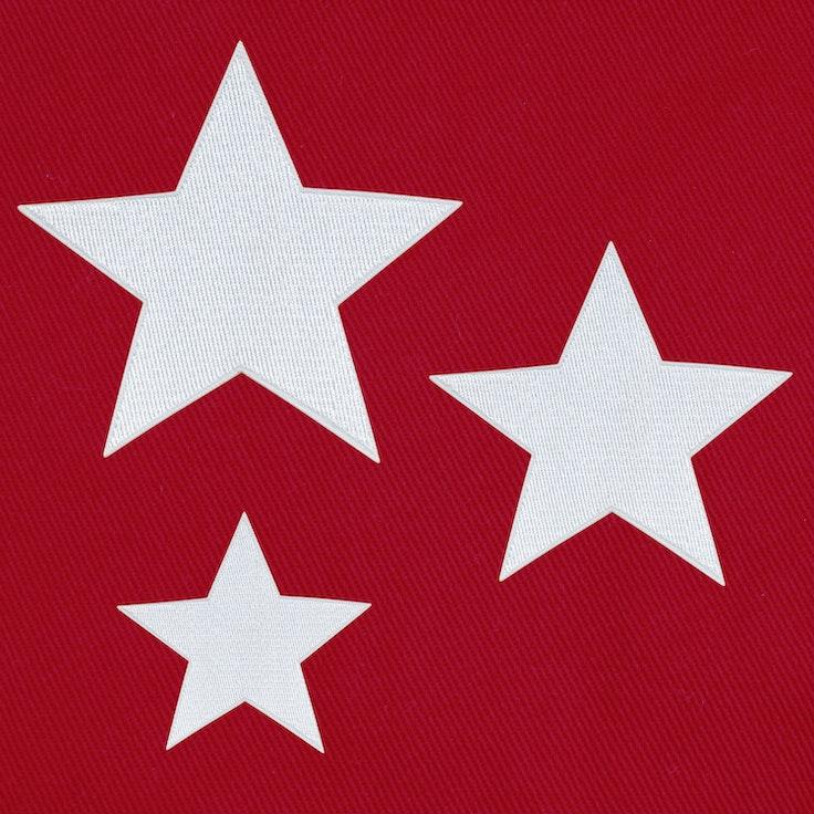 Stjerner 3-Pack Hvit