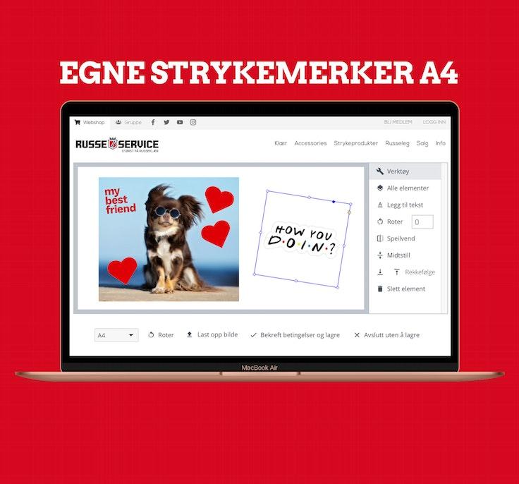 Egne Strykemerker A4
